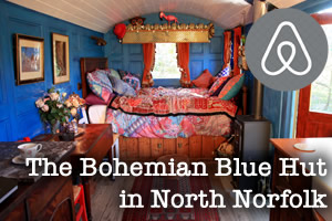 The Bohemian Blue Hut - Martin's Shephard's Hut is chilled out and Zenified